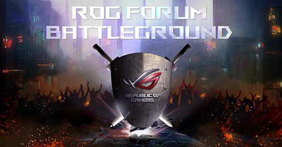 ROG Forum Battleground  Community Campaign